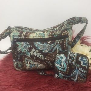 Vera Bradley Purse with Matching Wallet